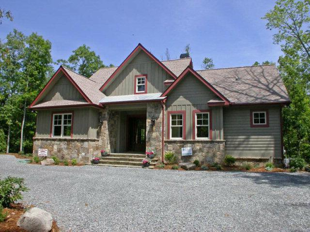 Unique Craftsman Style Custom Built Mountain Home For Sale