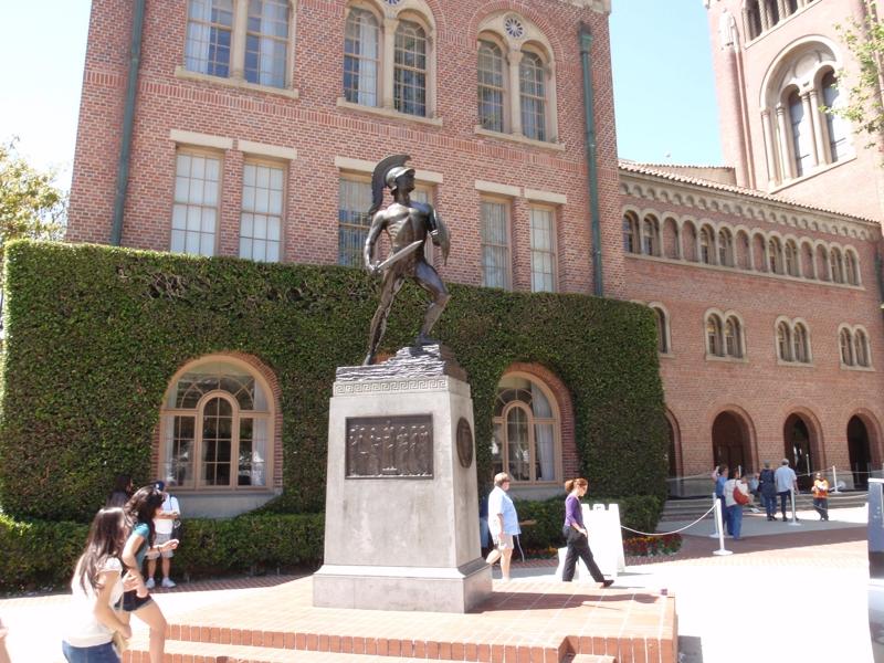 Tommy Trojan from USC