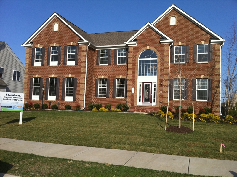 The palisades at oak creek bowie md for Md home builders