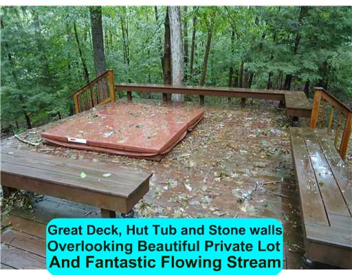 Private Deck and Stream