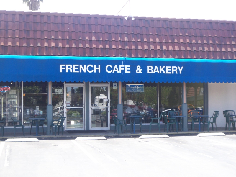 French Cafe and Bakery in Carlsbad Village