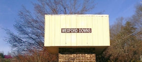 Wexford Downs entrance