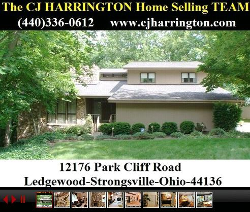 Cleveland Real Estate-12176 Park Cliff Road (Strongsville, Ohio 44136)...Call (440)336-0612 or Visit WWW.CJHARRINGTON.COM for More Information/Homes for Sale