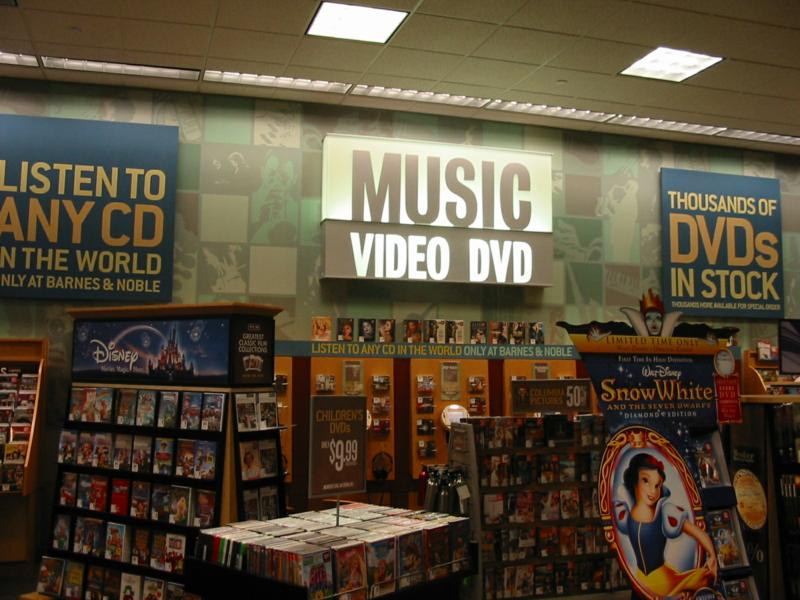 Barnes & Noble stocks close to , book, music, DVD and magazine titles!