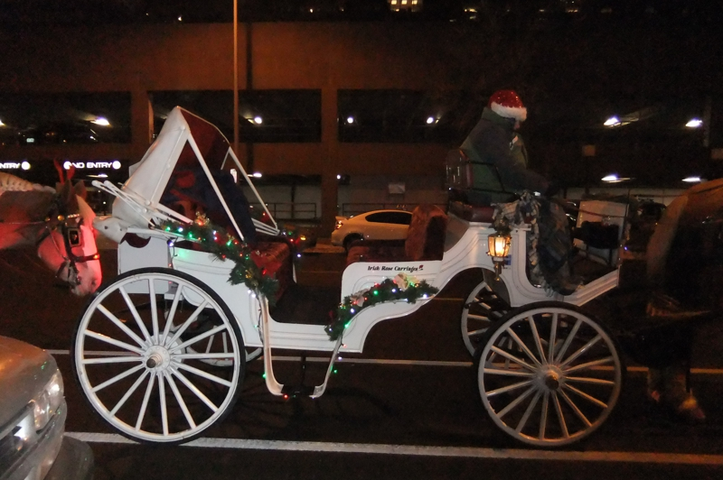 Old Spaghetti factory horse buggy