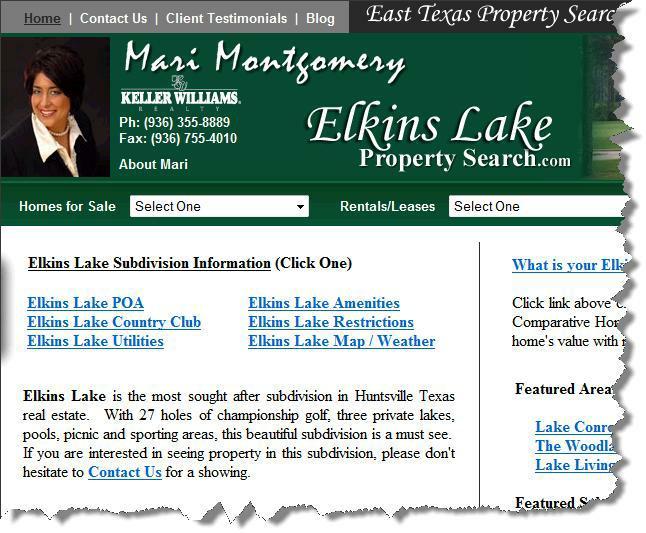 Elkins Lake real estate