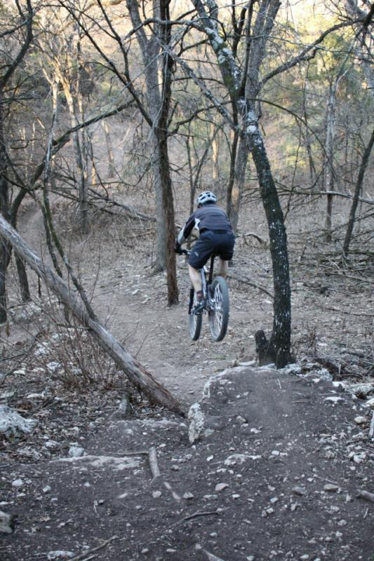 Barton Creek greenbelt Austin texas mountain biking