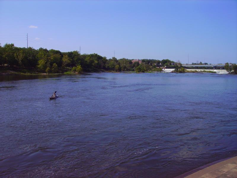 Columbus Ga, Home, to, Fort Benning, Chattahoochee River in Downtown Columbus.