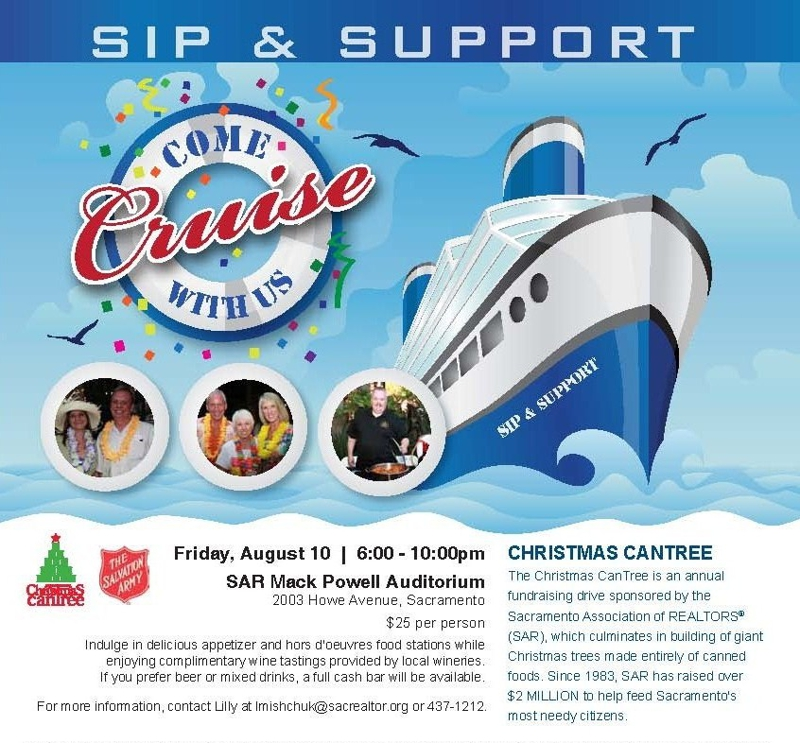 2012 Sip N Support for Christmas CanTree Sacramento