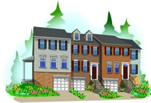 New Townhomes in Alexandria