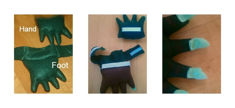 Homemade Halloween Costume How To Make A Dinosaur Cos