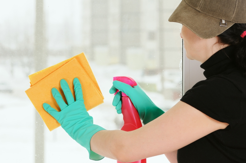 washing screens and windows helps your house stand out to buyers