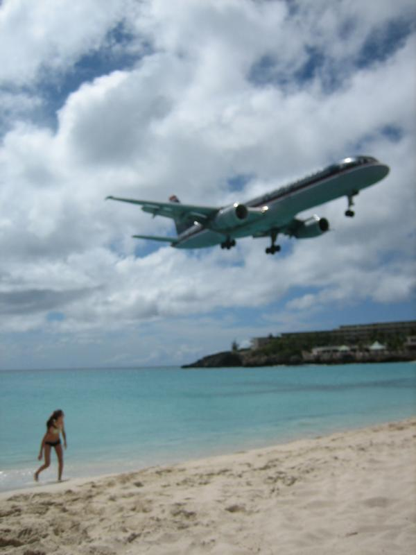 Maho Beach:  A Show To Remember!