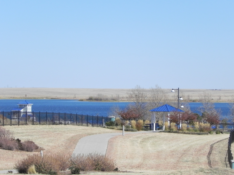 Views of Aurora Reservoir