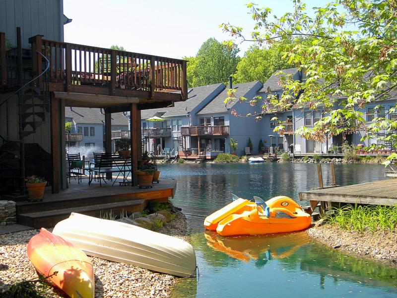 The Wharf in Reston. Waterfront town houses
