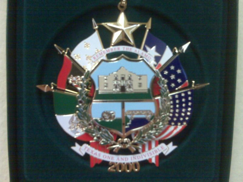 Texas State Capitol Christmas Tree Ornaments
