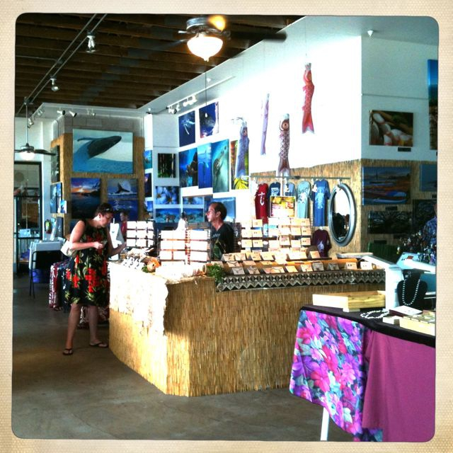Maalaea Maui Art & Craft Fair is open every day at the Harbor Shops!