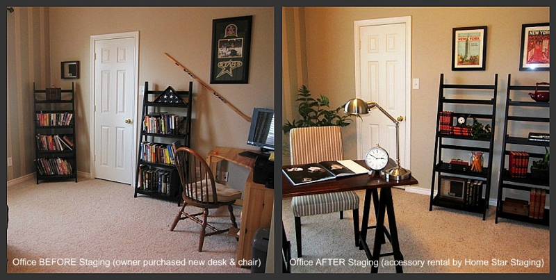 Dallas home staging by Home Star Staging