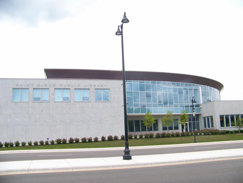 The St Cloud MN Public Library