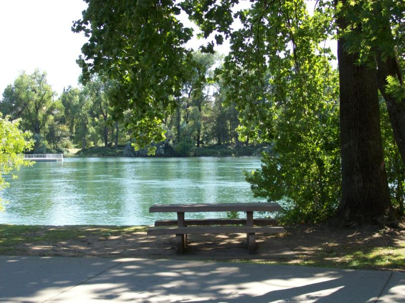 Redding Ca Coldwell Park And The Fish Ladder Park By The Sacramento River