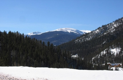 Mountains in Taos