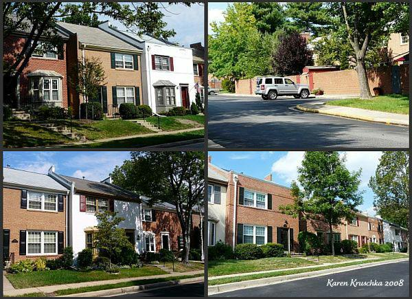 Charlestown, Springfield, Fairfax County, Virginia Townhomes