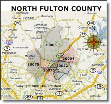 North Fulton Homes for Sale By Zip Codes - Buy Homes in ...