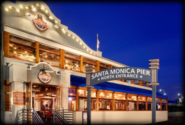 Los angeles 411 enjoy a delectable dinner at the bubba for Fish restaurant santa monica