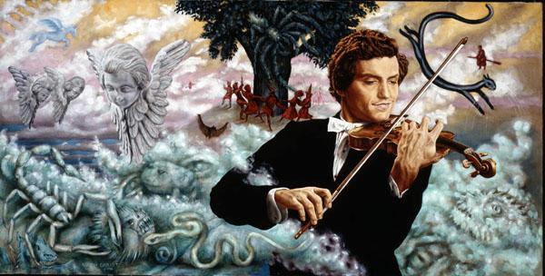 The Violinist - Martin Charlot