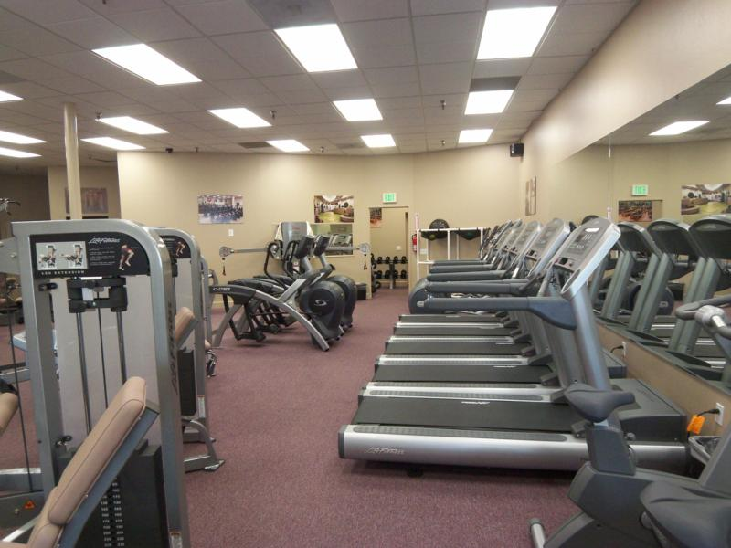 New gym equipment for the Total Woman Gym and Spa in Encinitas