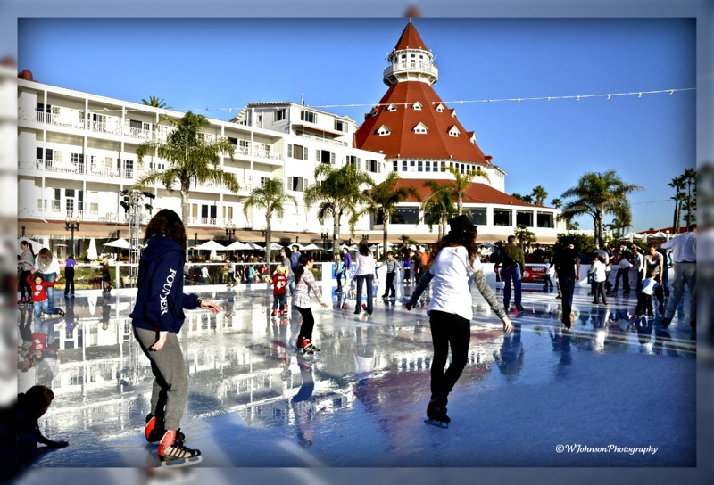 La jolla ice skating