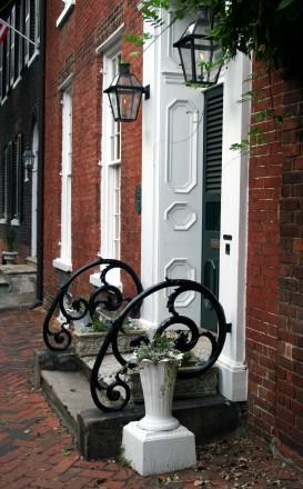 Old Town Alexandria historic townhouse