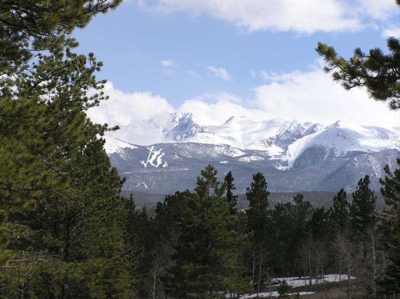 Pikes Peak from Divide CO