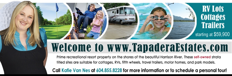 Contact Katie Van Nes 604.855.8228 :: Tapadera Estates :: 14600 Morris Valley Road, Harrison Mills, BC