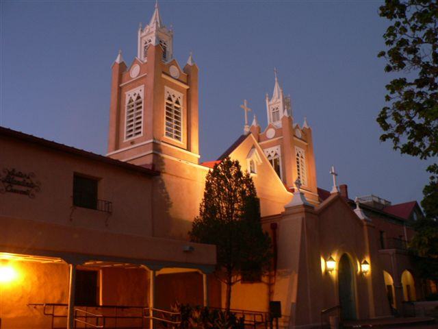 Albuquerque Old Town Church
