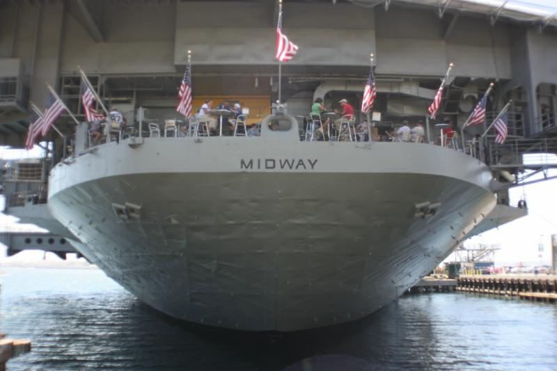 USS Midway Museum, San Diego, California