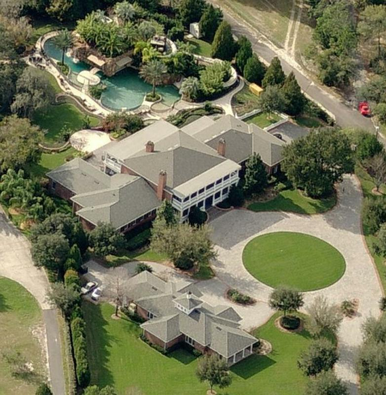 celebrity homes around orlando fl