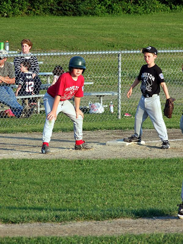 little league, houlton maine baseball playoff game