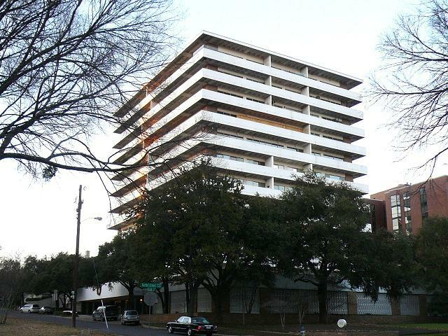 Dallas Highrises and Condos: The Goldcrest