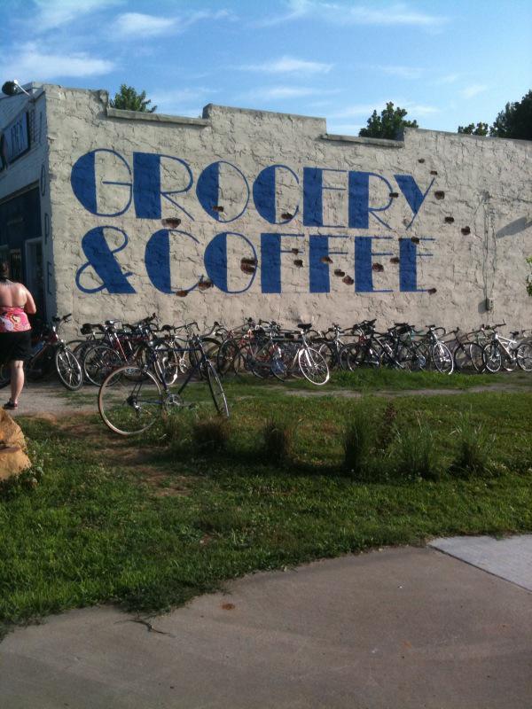 Blue Jackalope, neighborhood grocery and coffee, Crosbie Heights