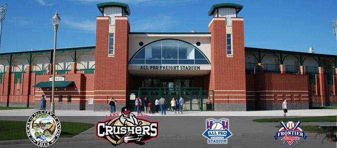 Avon Ohio's new Lake Erie Crushers' All-Pro Baseball Stadium