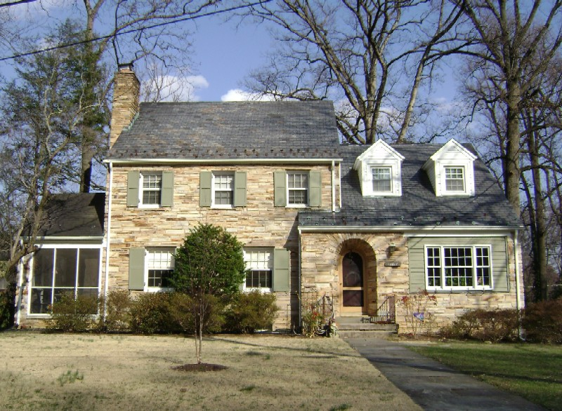 Stone Colonial - Northwood Park Silver Spring