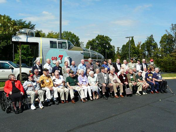 WW2 Vets in Manassas