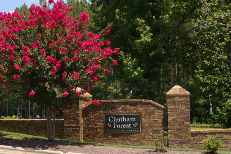 Chatham Forest Pittsboro - Available Lots - Bring Your Own Builder Raleigh