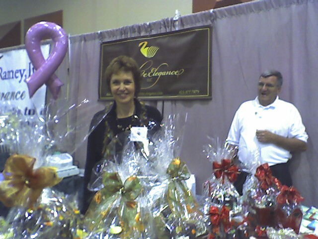 Women's Expo - Chocolate display