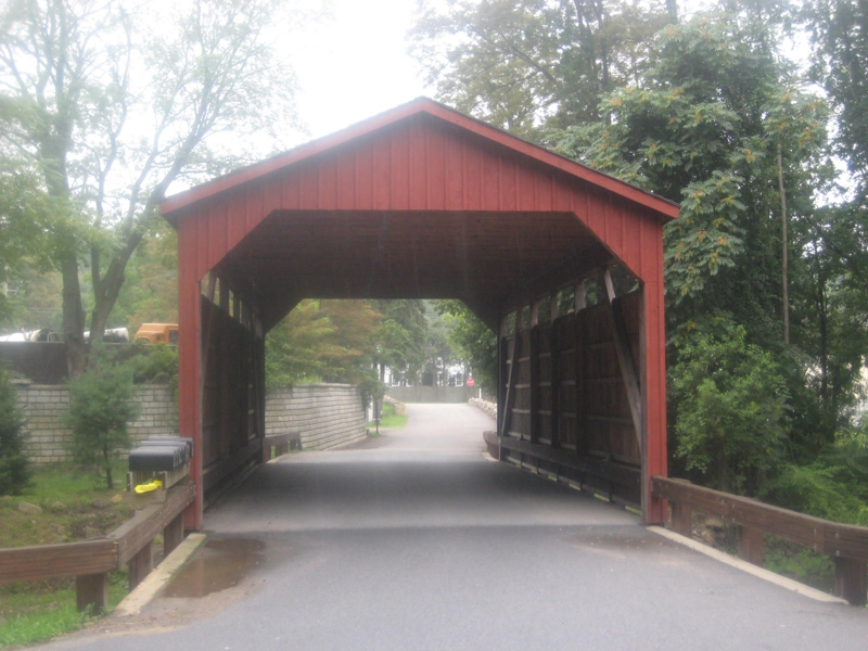 Covered Bridge in Philipstown, NY
