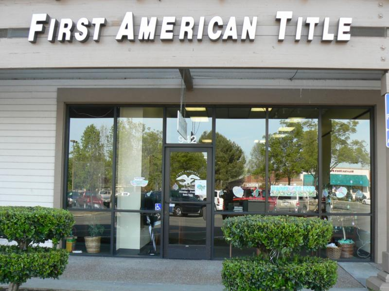 First American Title - Vallejo, CA