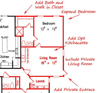 Finding a home with an in law suite mother in law suite for How to find homes with inlaw suites