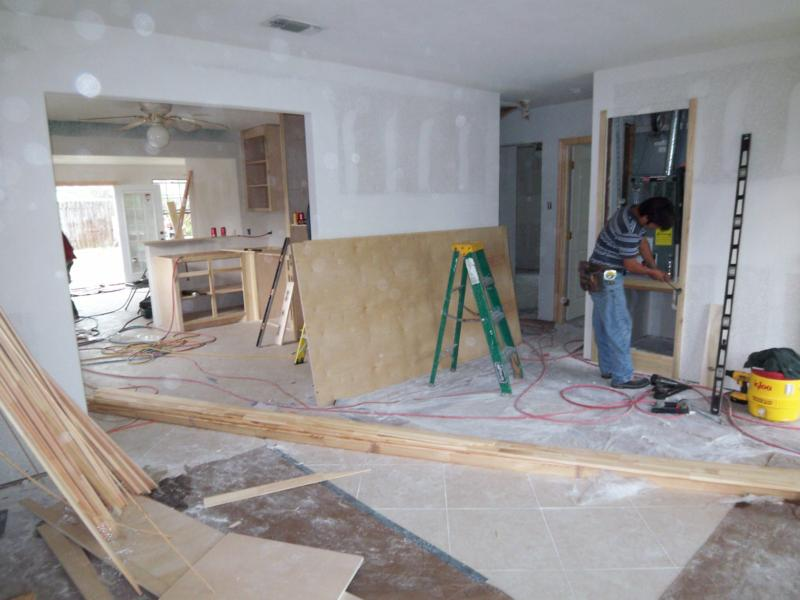 Hurricane Ike Damaged House To Be Staged