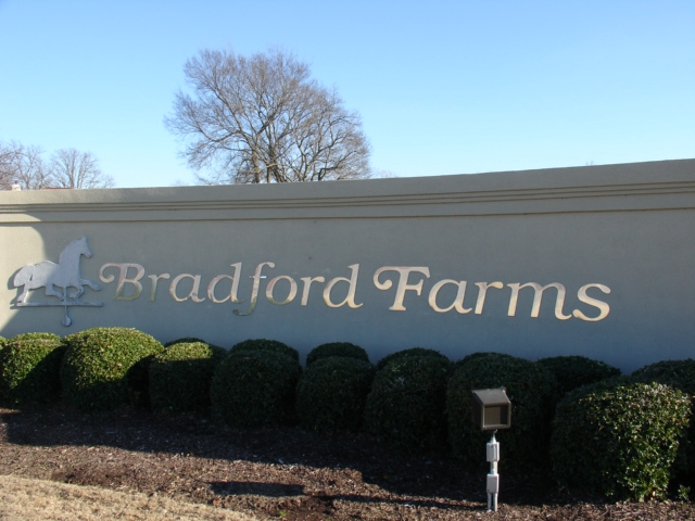 Madison Alabama Bradford Farms Subdivision